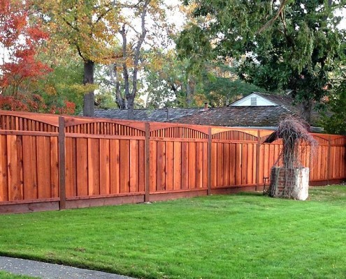 Redwood fencing style choices from a and j fencing adding awesome curb appeal to your home yet still providing safety and security this custom built hand crafted redwood fencing will be the talk of the town workwithnaturefo
