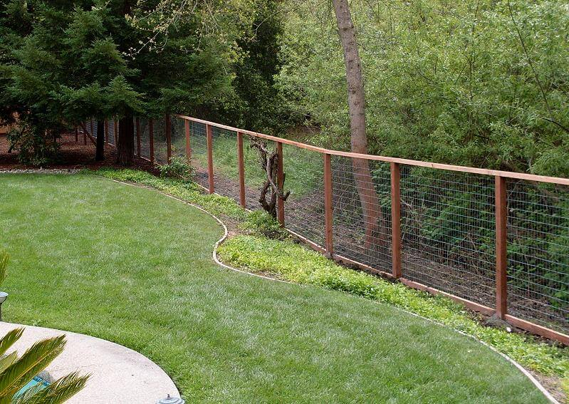Attractive DEER FENCING
