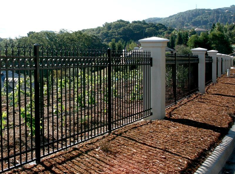 Ornamental Iron Construction Portfolio A And J Fencing