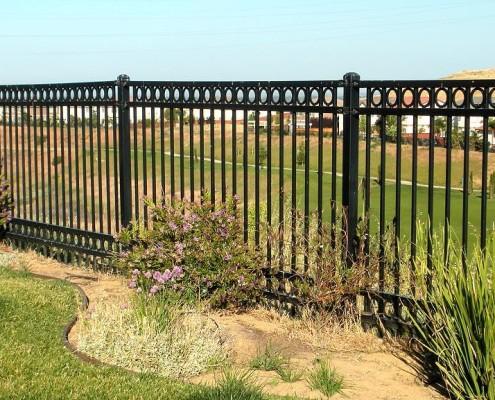 Ornamental Iron Construction Portfolio A And J Fencing
