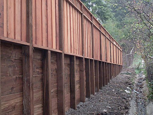Retaining Walls Construction Portfolio A And J Fencing