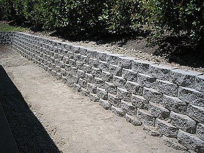 Pressure Treated Retaining Wall Design