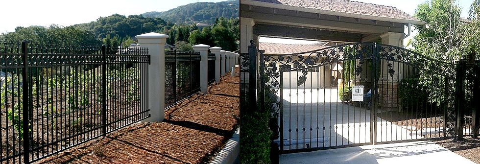 Iron Fencing Automatic Gates